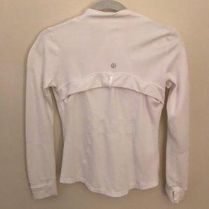 White Lululemon Inspired Jacket